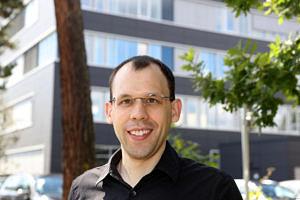 PD Dr. Benoit Merle, Chair of Materials Science I (General Material Properties). (Image: FAU/Kurt Fuchs)